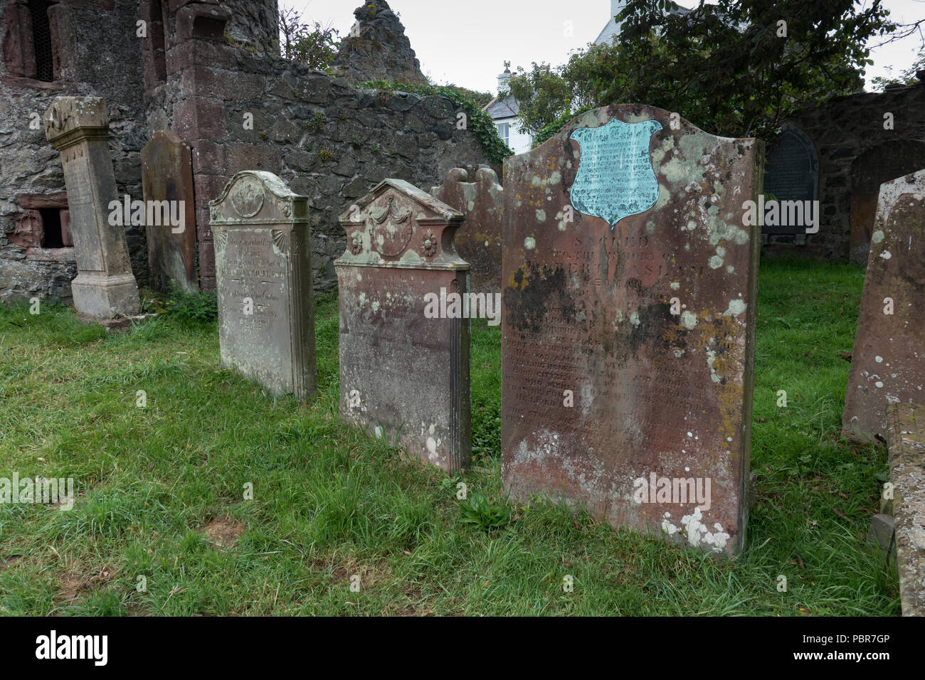 Old Portpatrick Church of Saint Andrew. Dumfries and Galloway. Scot - Stock Image