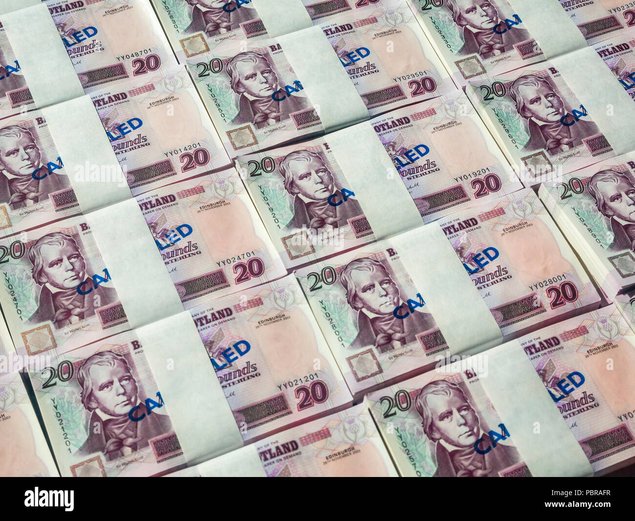 Million Pounds Cash Stock Photos & Million Pounds Cash Stock