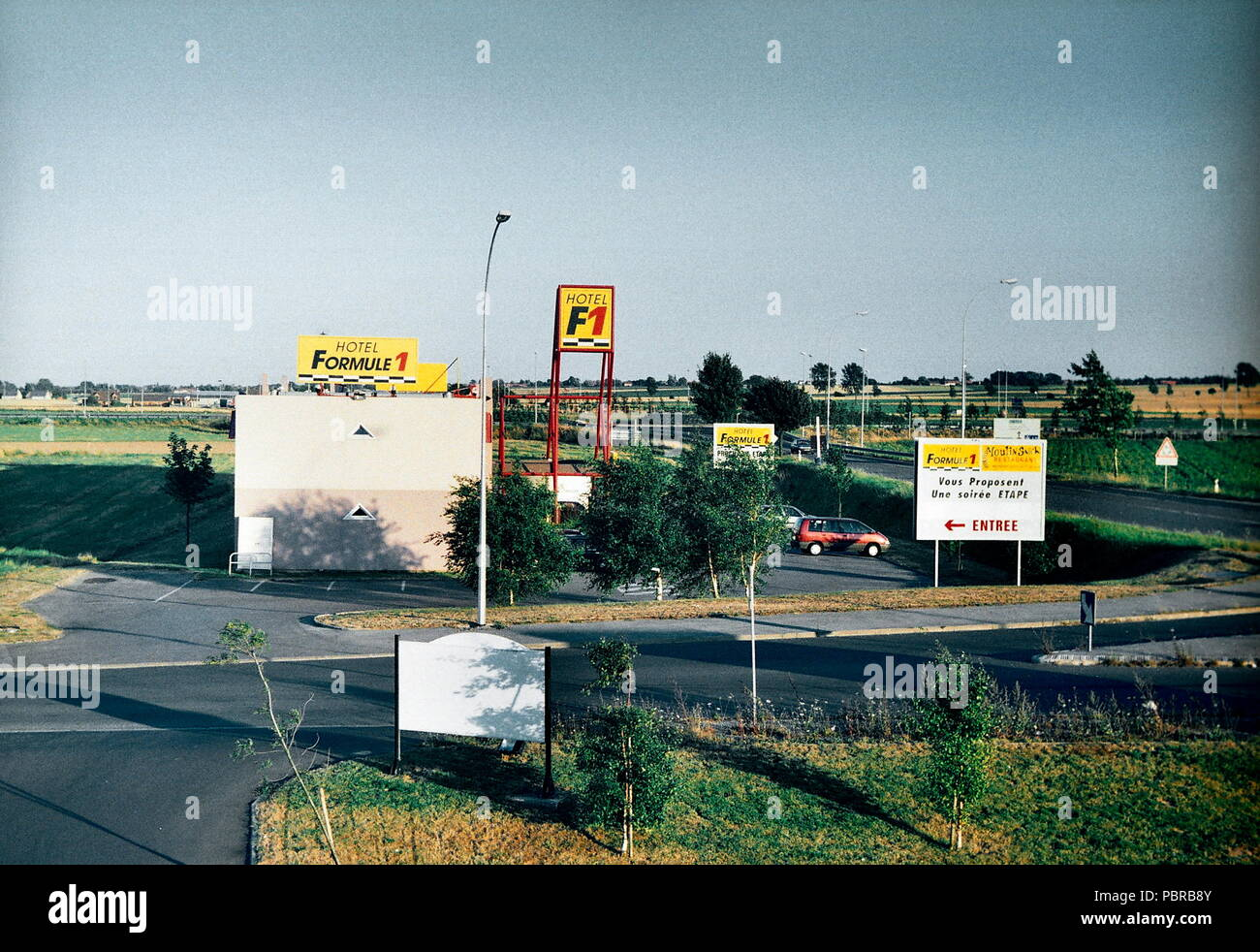AJAXNETPHOTO. CAMBRAI, FRANCE - HOTEL FORMULE 1 - LANDSCAPE NR CAMBRAI. PHOTO:JONATHAN EASTLAND/AJAX REF:TC_6045_36_21A - Stock Image