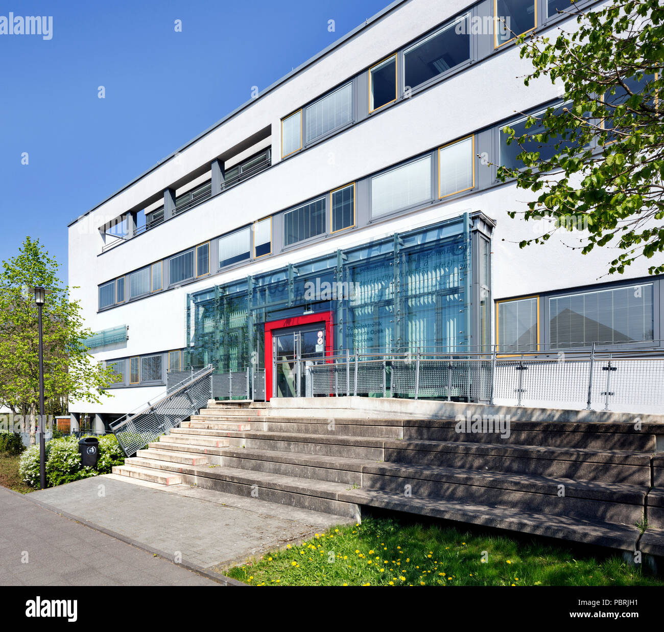 University of Paderborn, Main Campus, Center for Optoelectronics, Integrated Optics and Photonics, Paderborn, East-Westphalia - Stock Image