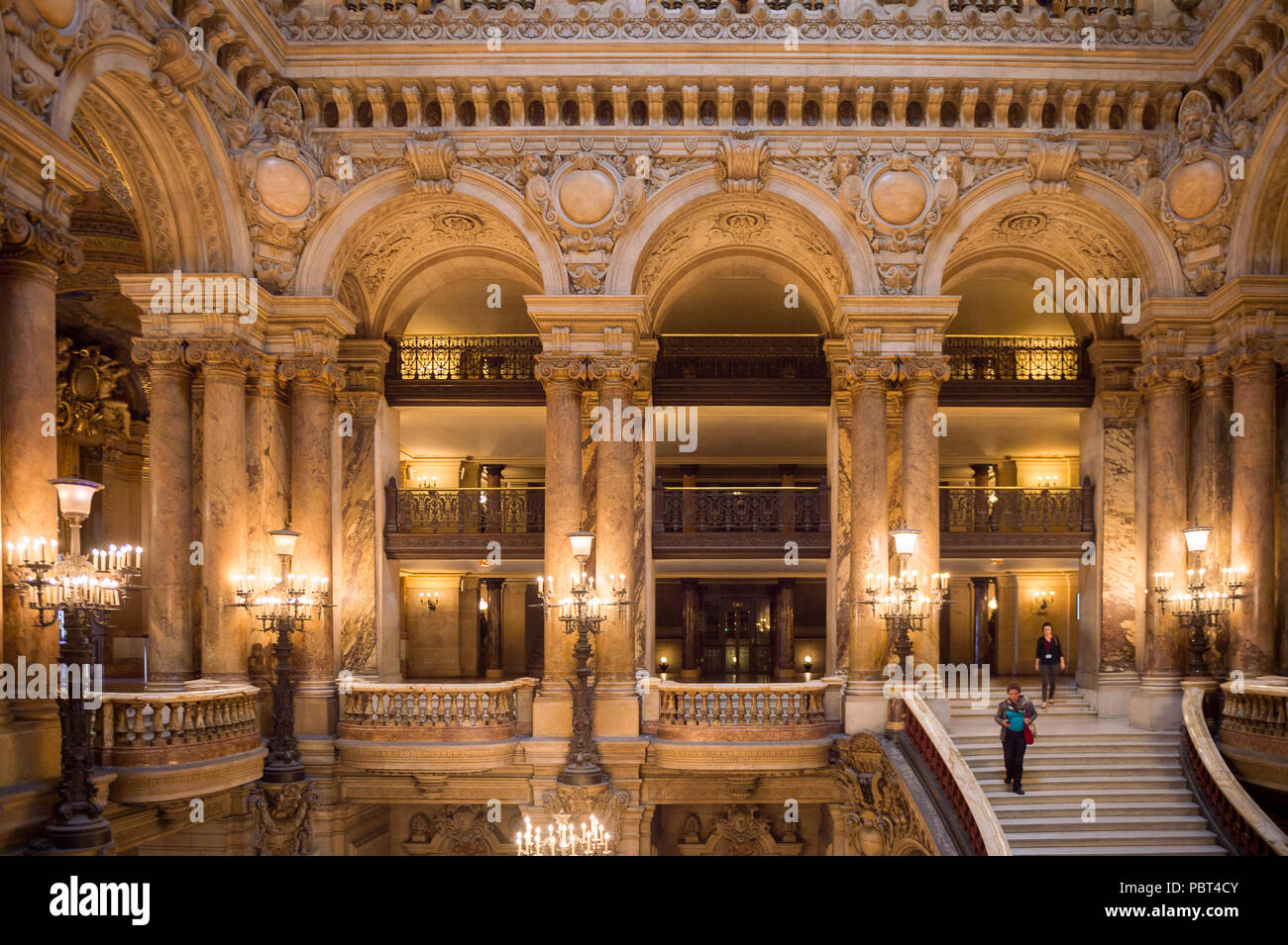 Paris France Jun 6 2015 Decoration Of The Palais Garnier Opera