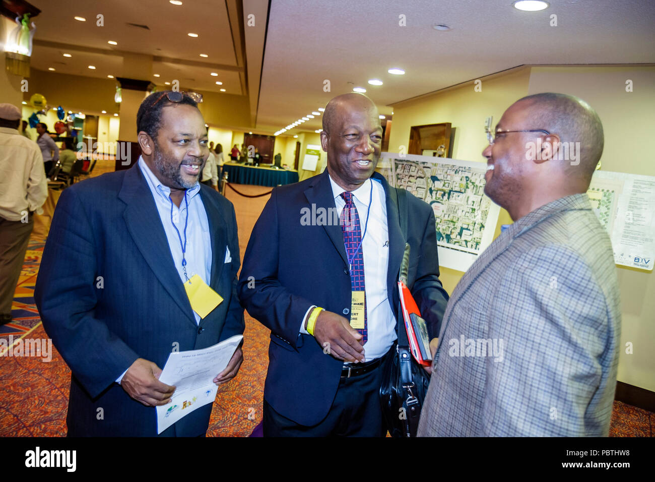 MiamiMiami Florida Downtown Hilton hotel Housing and Economic Development Expo Community Redevelopment Agency small business af - Stock Image
