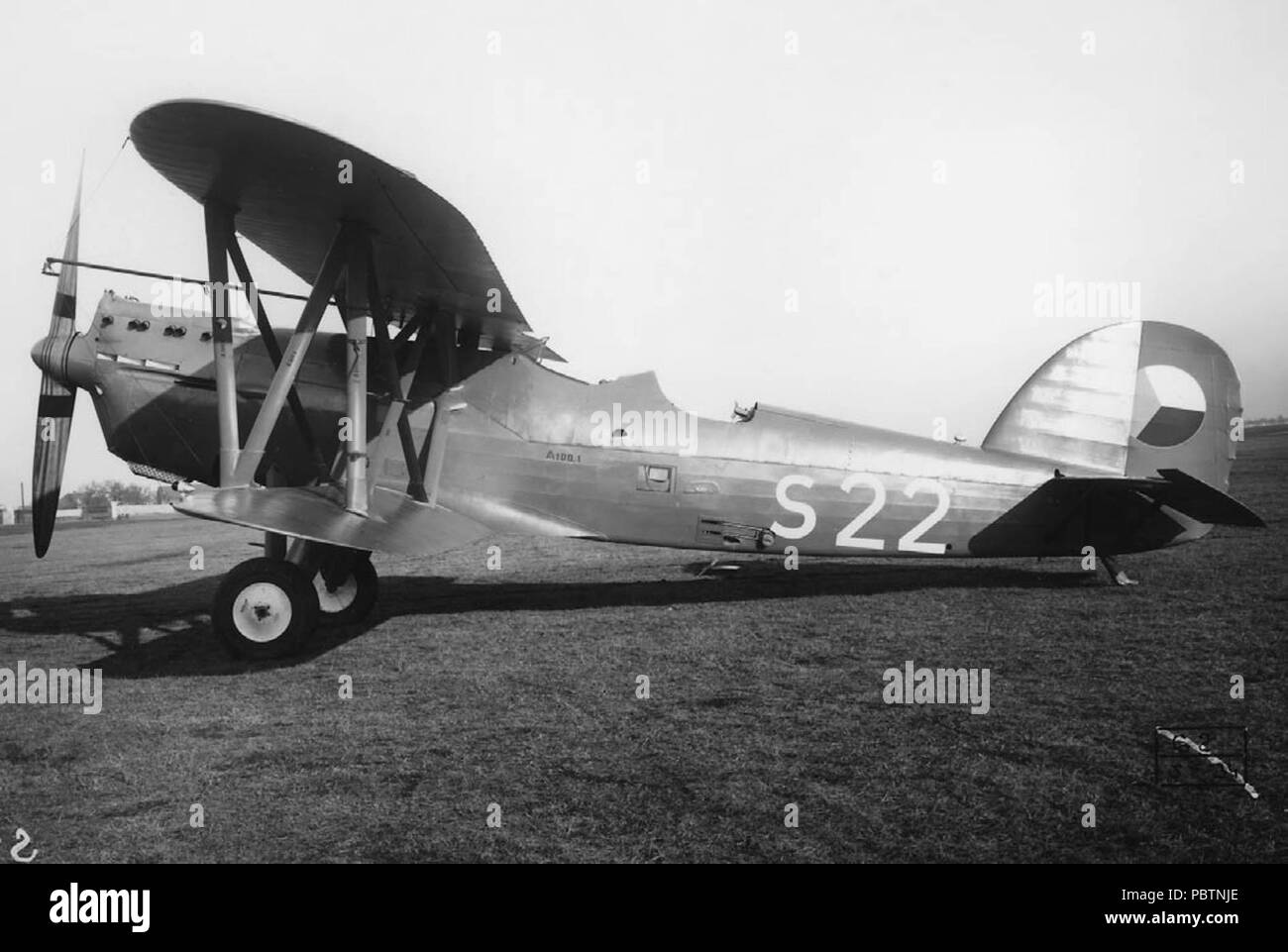 Lietadlo Aero A-100 - Stock Image