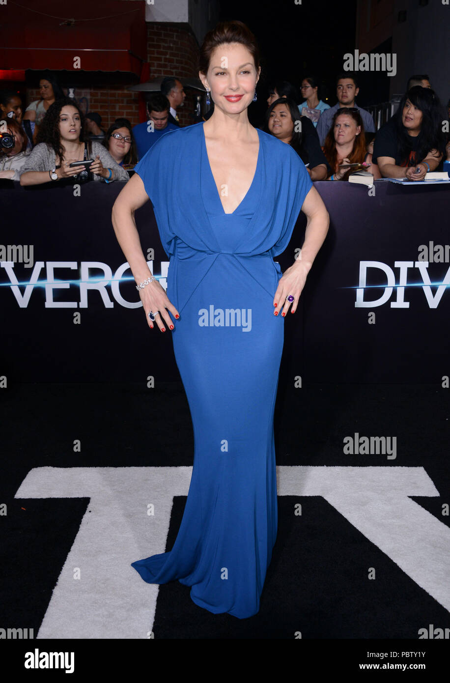 Ashley Judd 116 at the Divergent Premiere at the Westwood