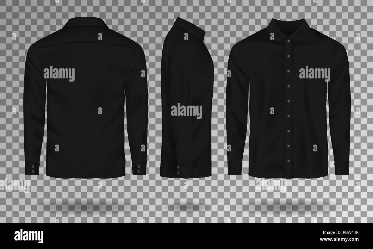Collar Shirt Template Concept Formal Stock Photos Collar Shirt