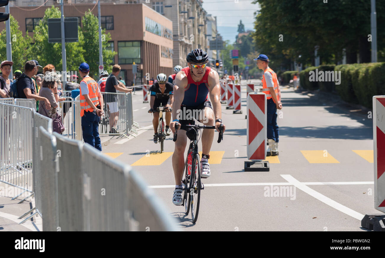 The Switzerland, 2018, Ironman Triathlon: Biking course