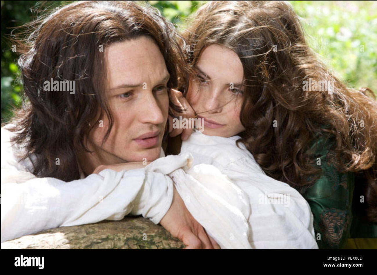 WUTHERING HEIGHTS 2009 Mammoth Screen TV series with Tom Hardy and Charlotte Riley - Stock Image