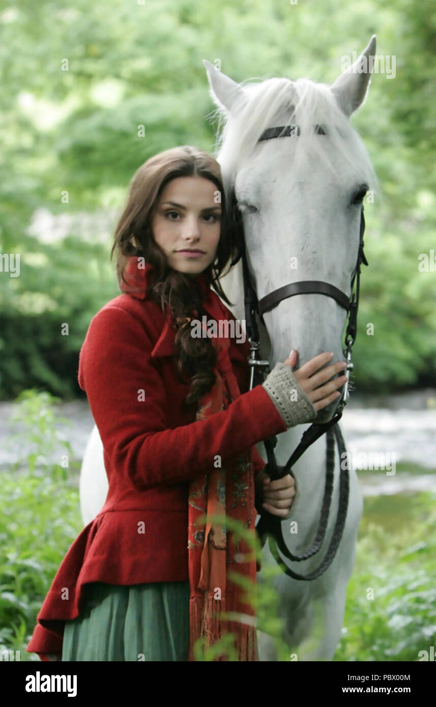 WUTHERING HEIGHTS  2009 ITV TV series  with Charlotte Riley Stock Photo