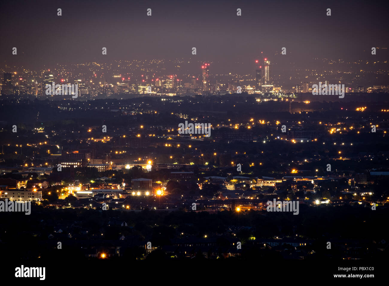 The Lights Of Manchester