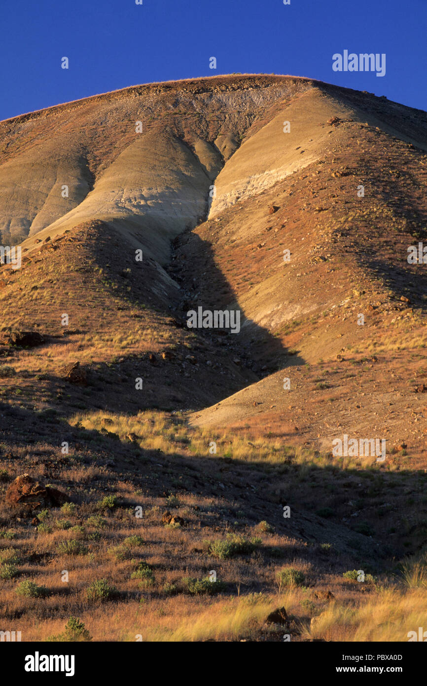Carroll Rim, John Day Fossil Beds National Monument-Painted Hills Unit, Oregon - Stock Image