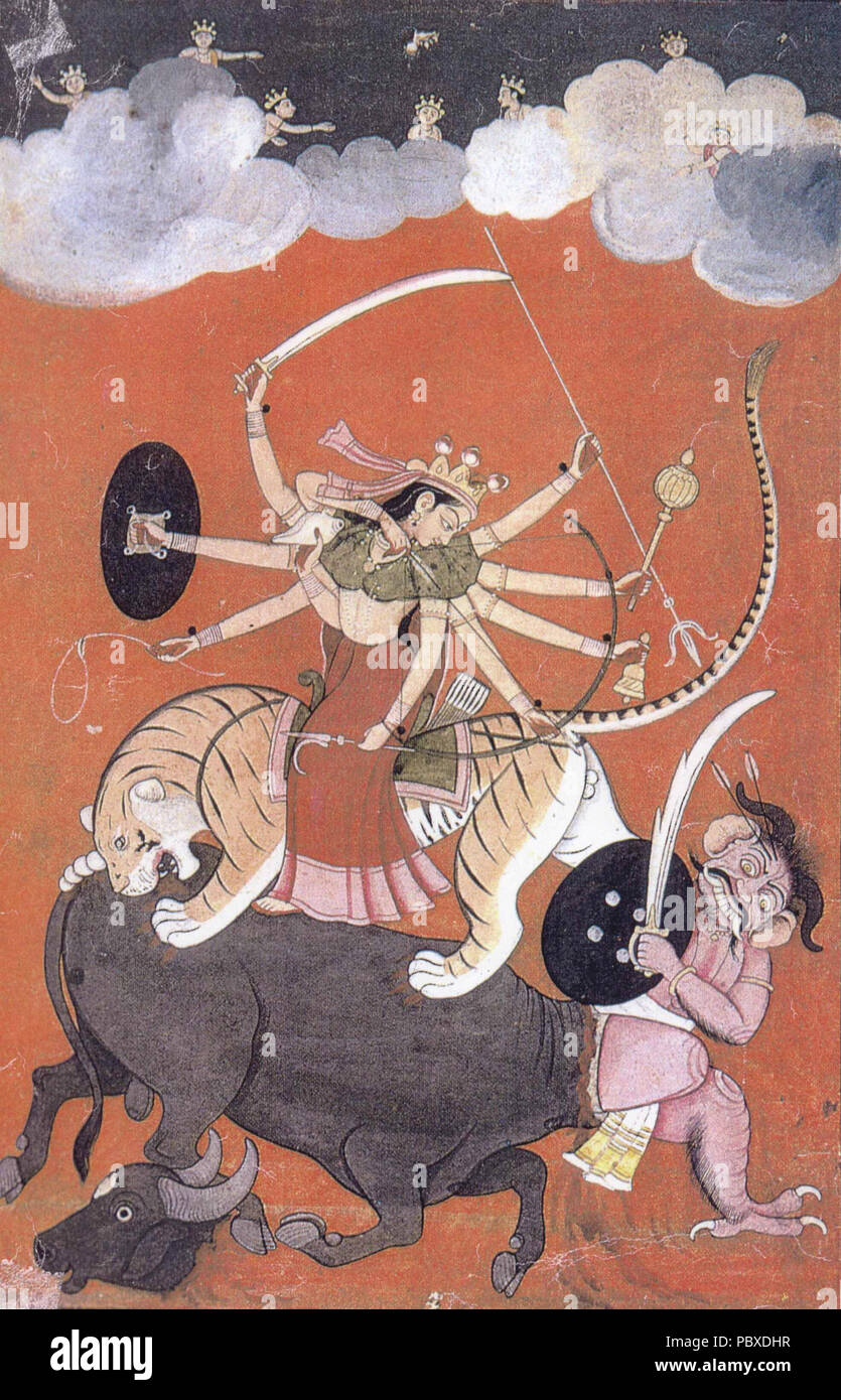 Buffalo Demon Mahishasura Stock Photos & Buffalo Demon