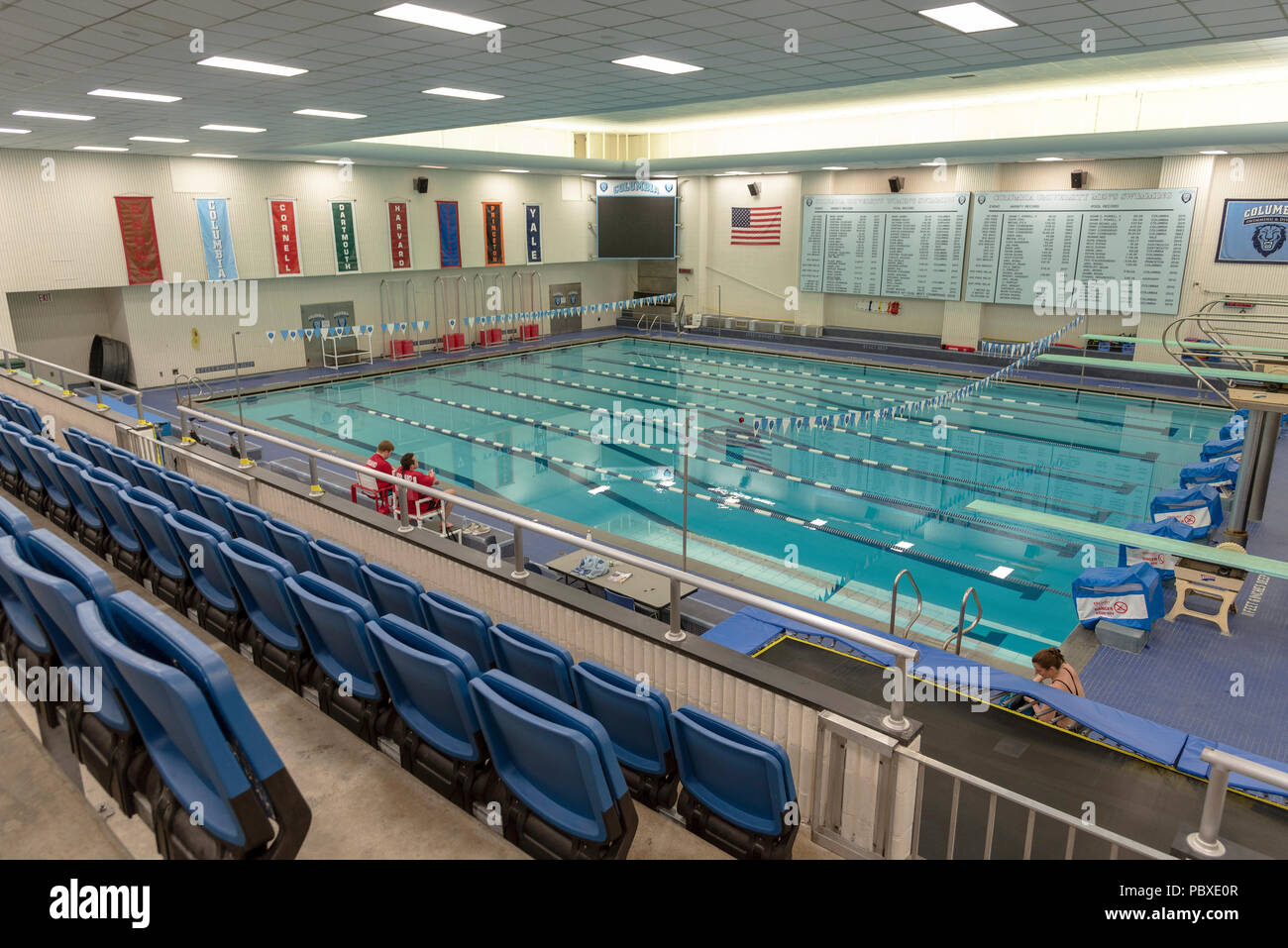 Swimming pool indoor lanes stock photos swimming pool indoor lanes stock images alamy for University of york swimming pool
