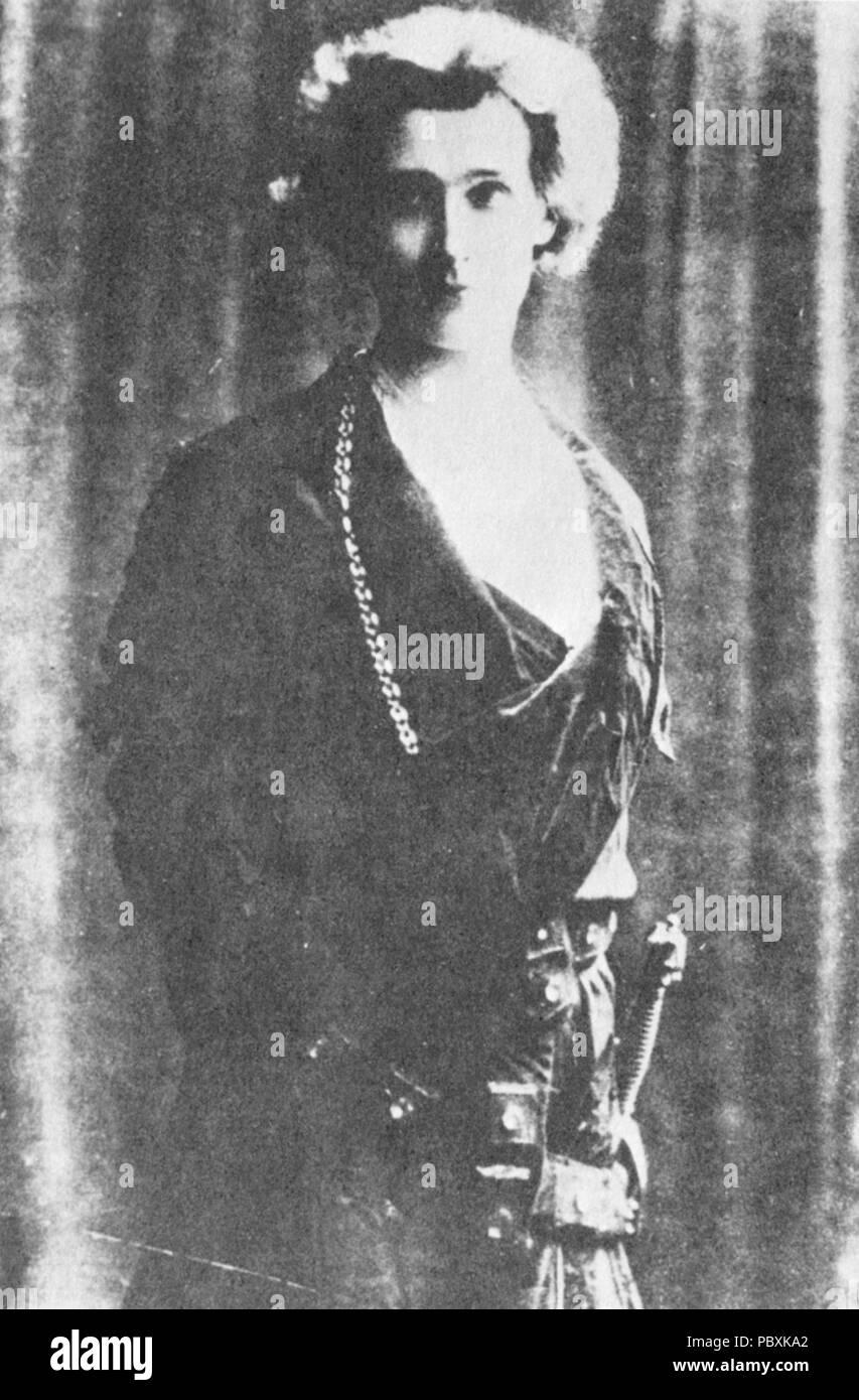 179 Edward Gordon Craig as Hamlet in 1897 - Stock Image