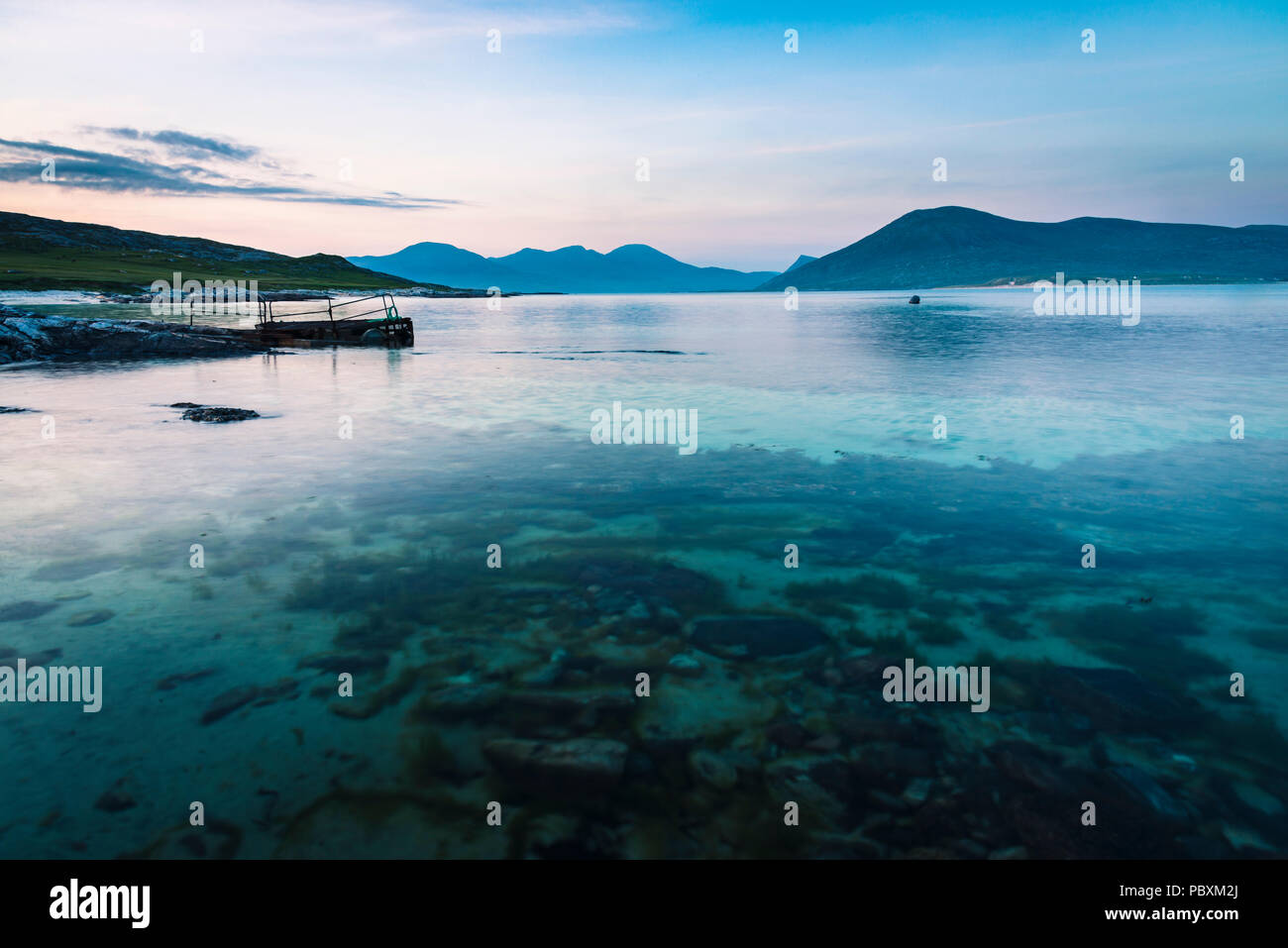 Paible beach on Taransay, Isle of Harris, Scotland, UK, Europe - Stock Image