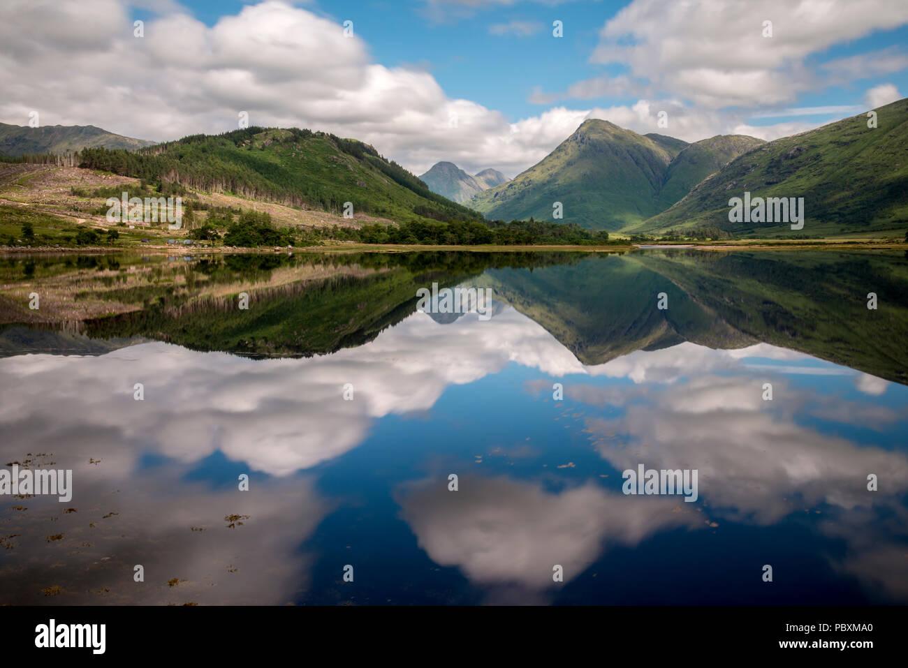 Loch Etive, Argyll and Bute, Scottish Highlands, Scotland, UK, Europe - Stock Image