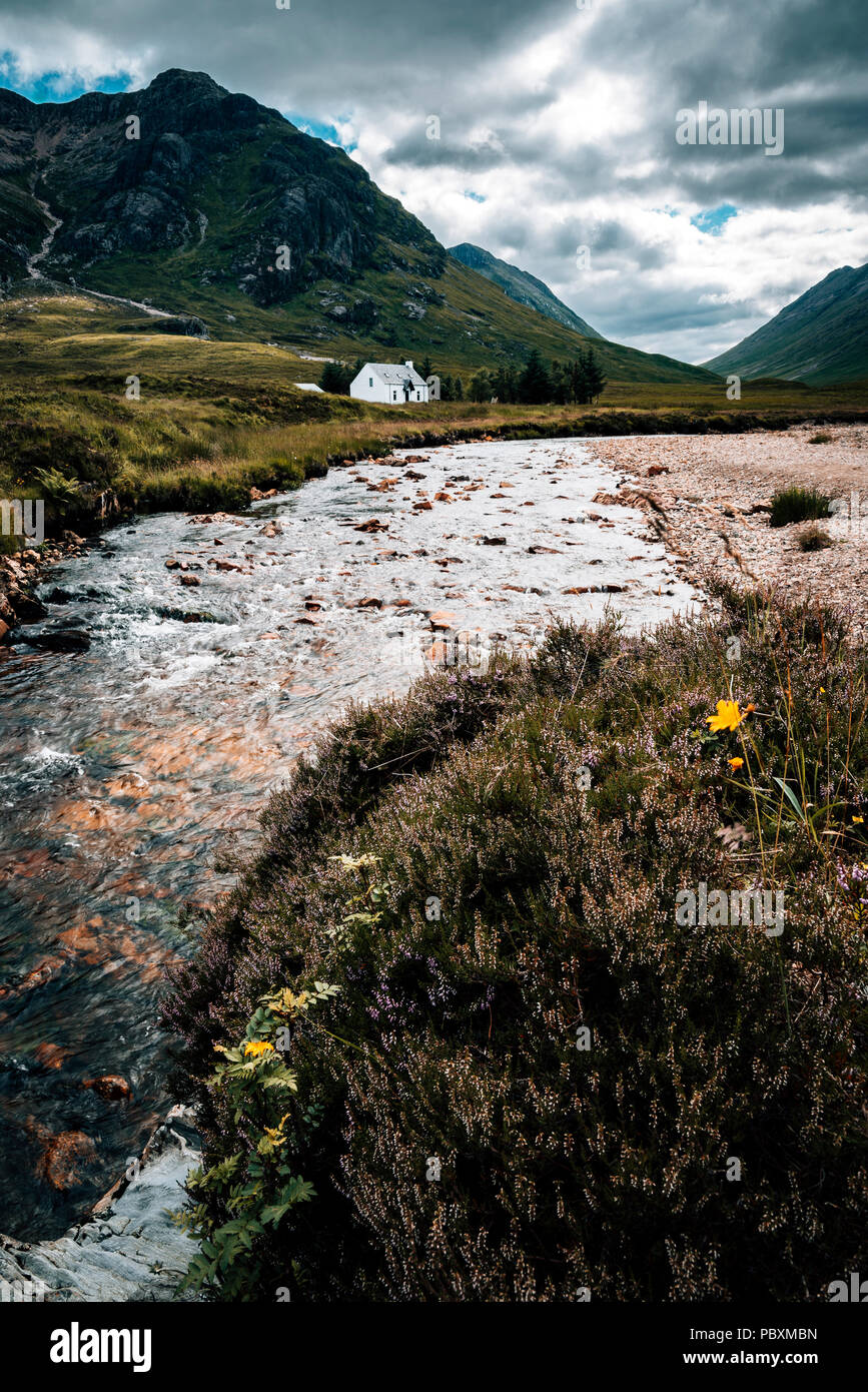 Glen Coe, Scottish Highlands, Scotland, UK, Europe - Stock Image