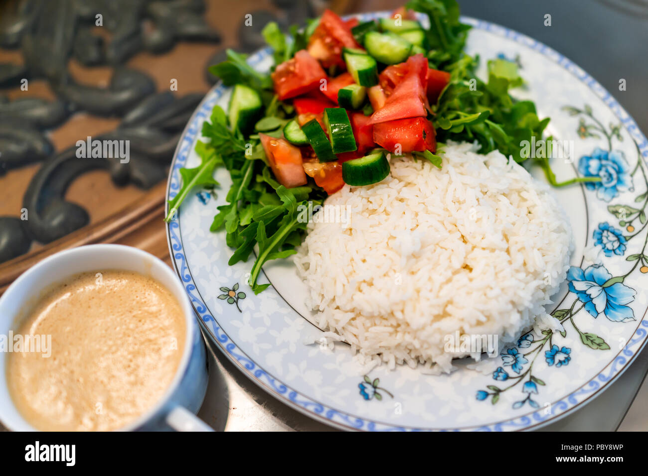 vegan diet white rice