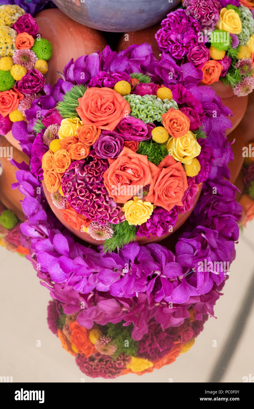 Flower Arrangement India High Resolution Stock Photography And Images Alamy