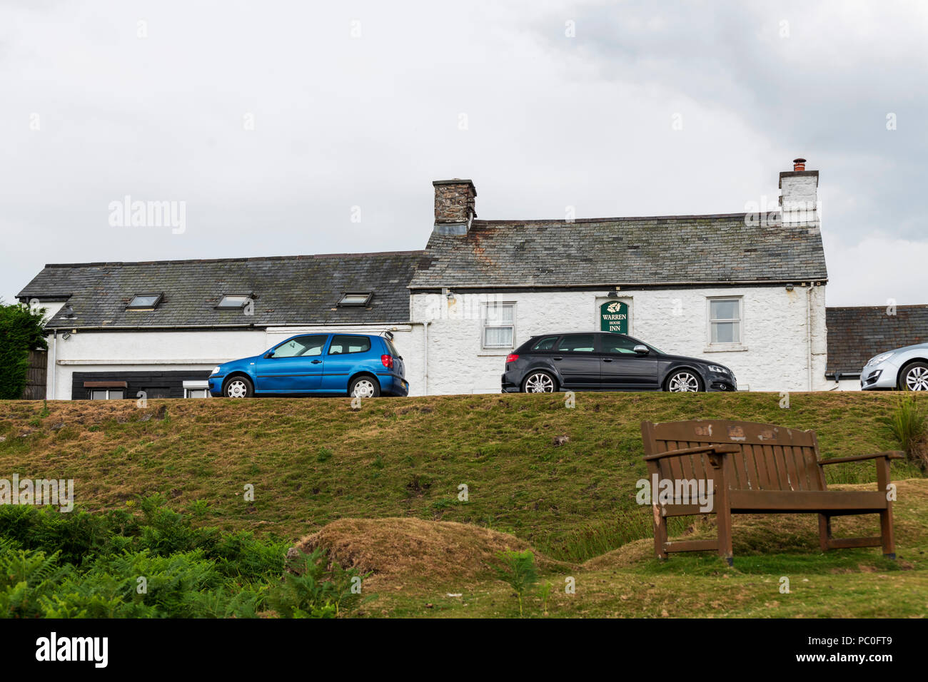 Warren Inn, Dartmoor - Stock Image