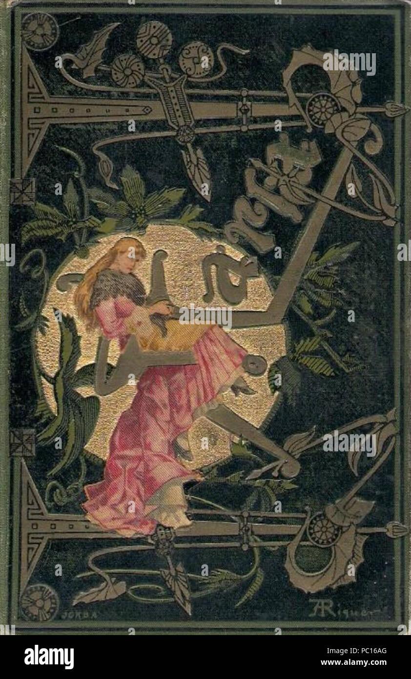 396 Maria (illust Riquer, 1882) - Stock Image