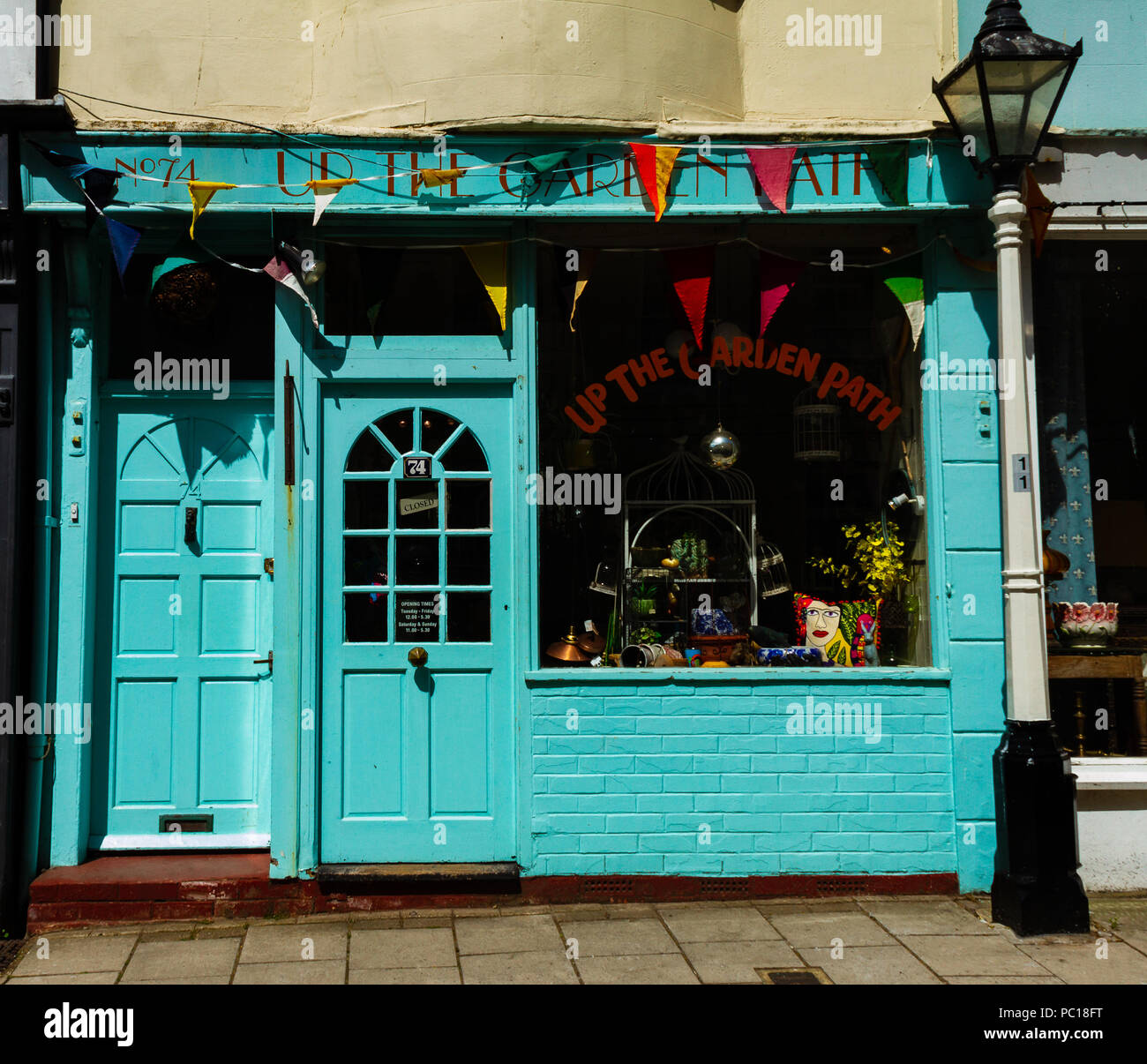 A shop in Hastings Old Town - Stock Image