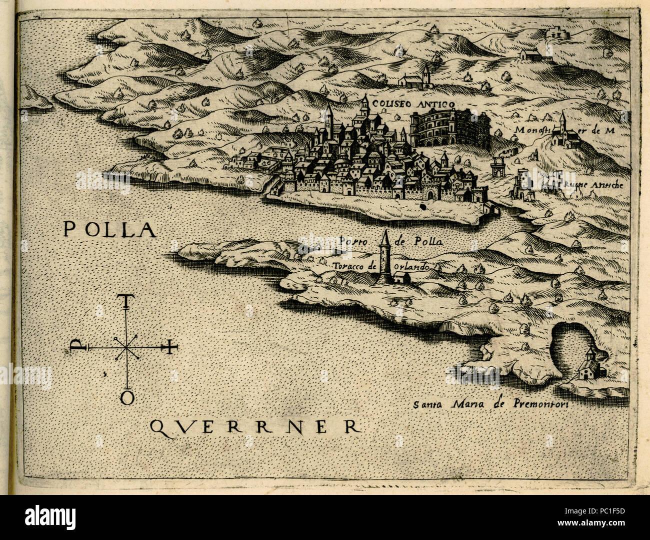 491 Polla - Camocio Giovanni Francesco - 1574
