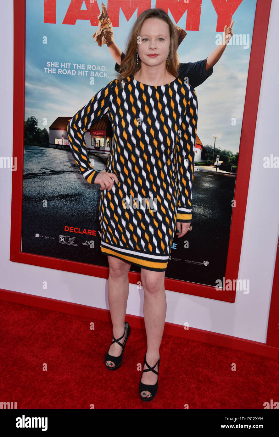 Thora Birch 138 At The Tammy Premiere At The Chinese Theatre