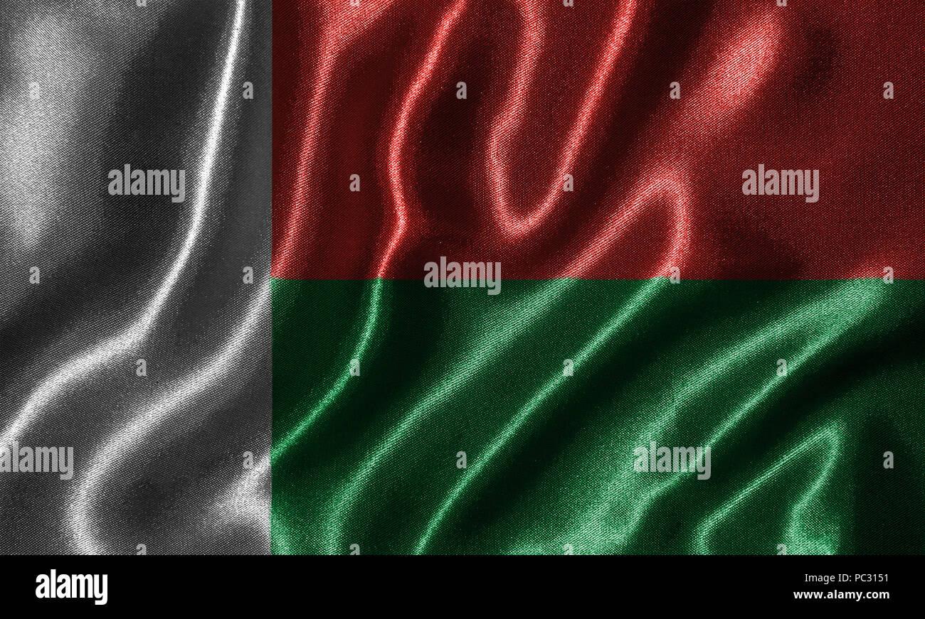 Madagascar Flag Fabric Flag Of Madagascar Country