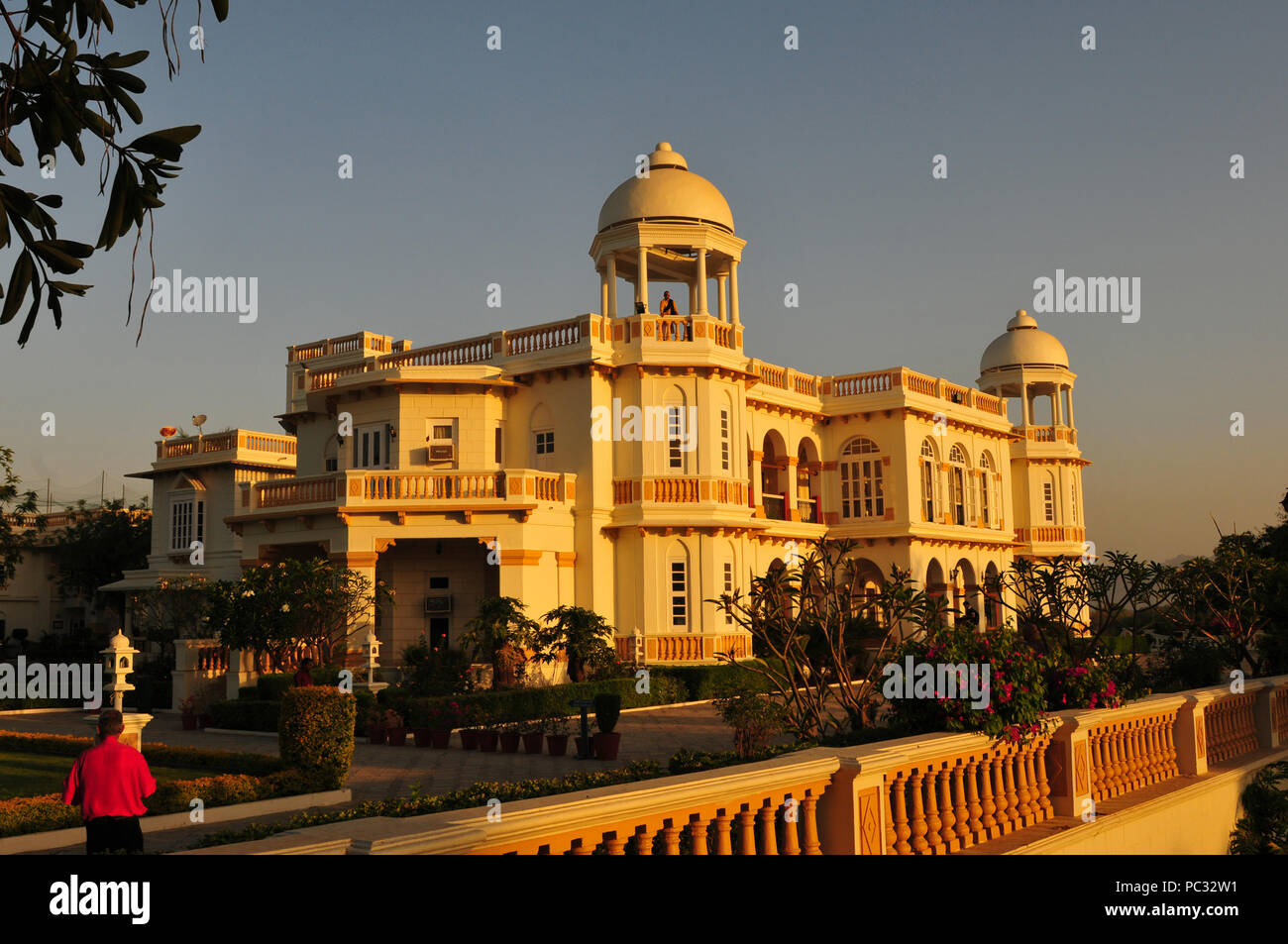 India: Stylish Balaram heritage hotel in Gujarat - Stock Image