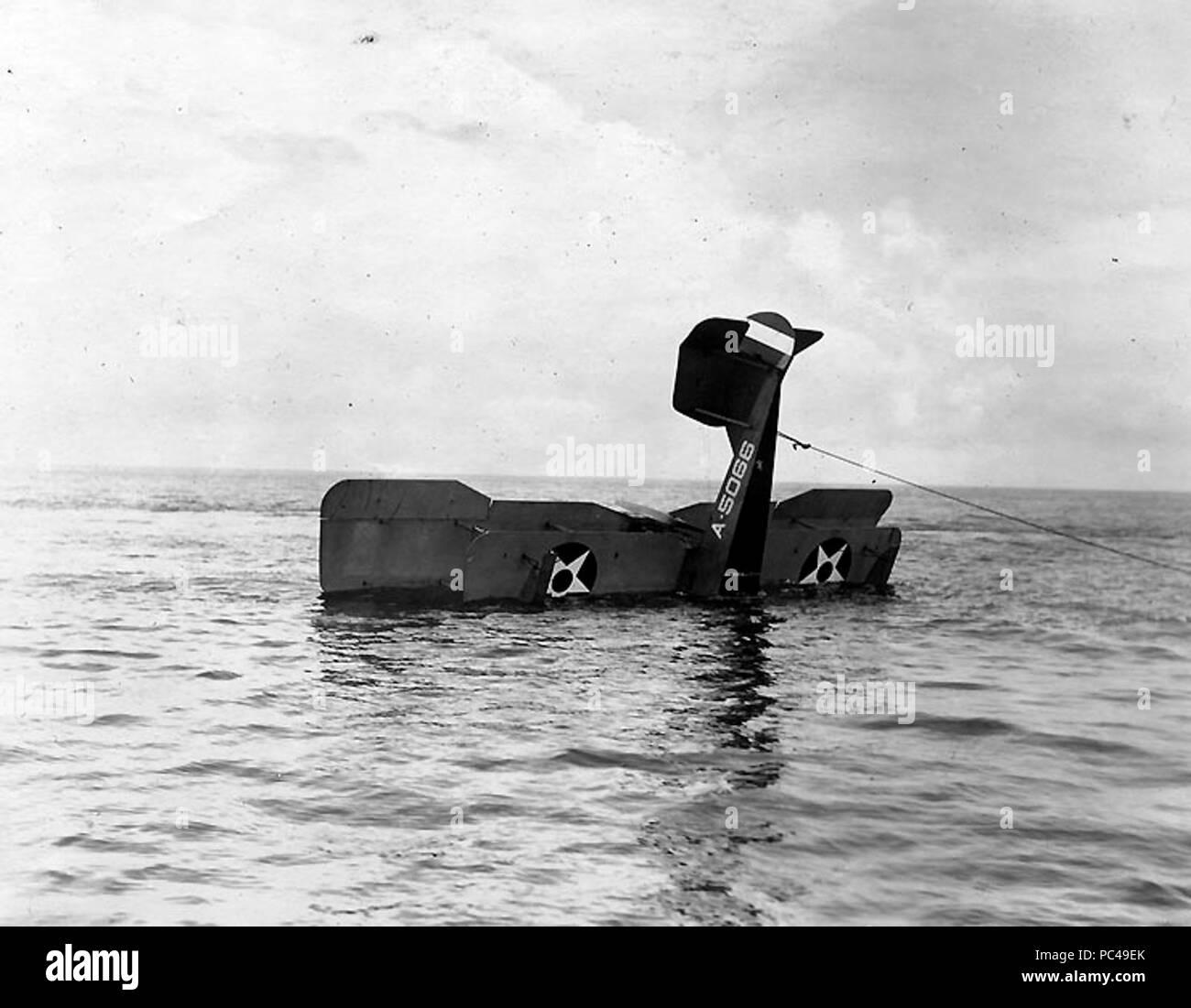 Aero-40 wreck. - Stock Image