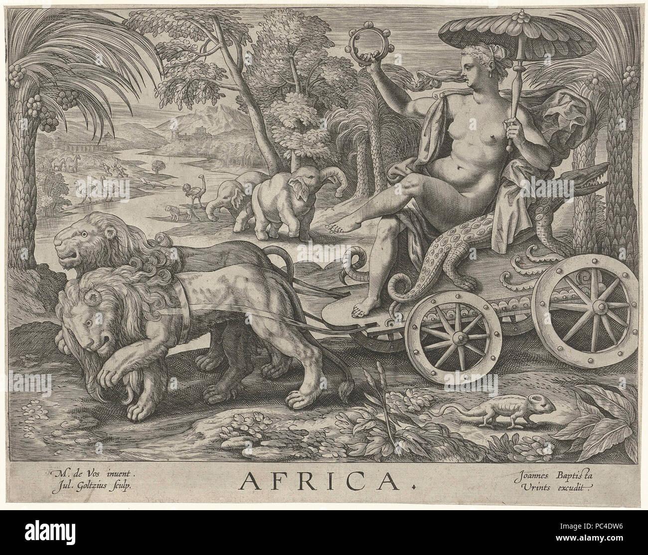 Afrika. - Stock Image