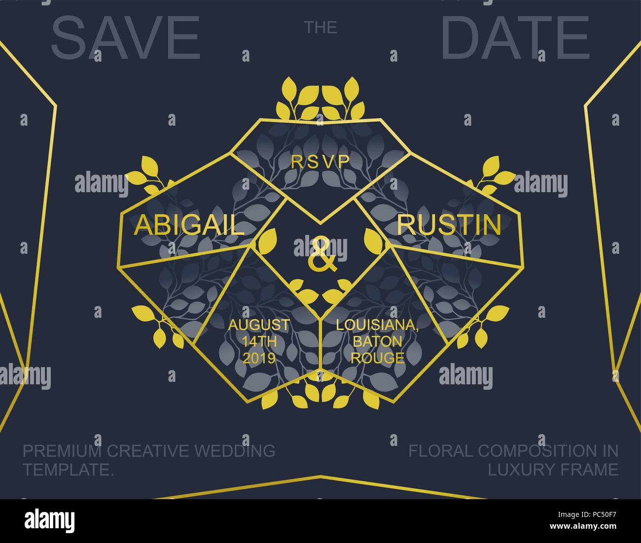 Creative Wedding Invitation Trendy Save The Date Card