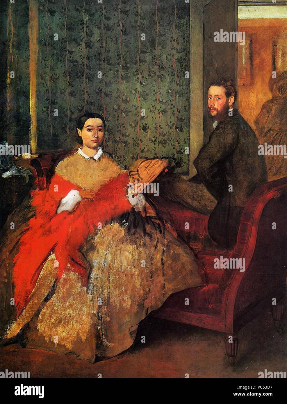 25 Edmondo and Thérèse Morbilli - Stock Image