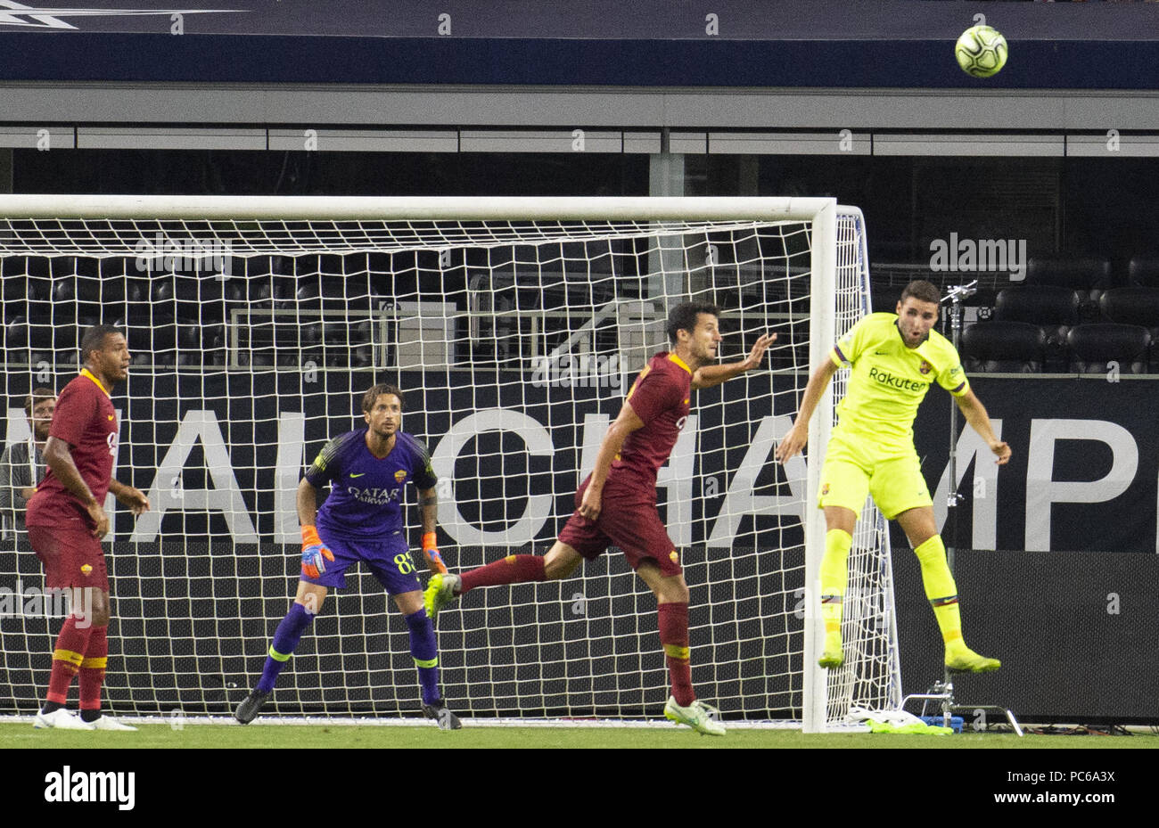 Arlington, Texas, U.S.A. 31st July, 2018. FC Barcelona attempting to ...