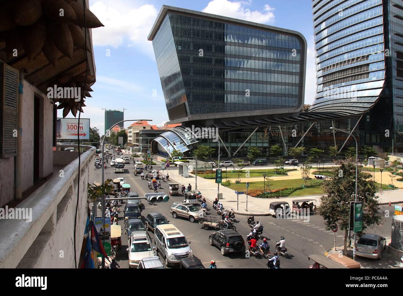 Phnom Penh  31st July, 2018  Photo taken on July 31, 2018