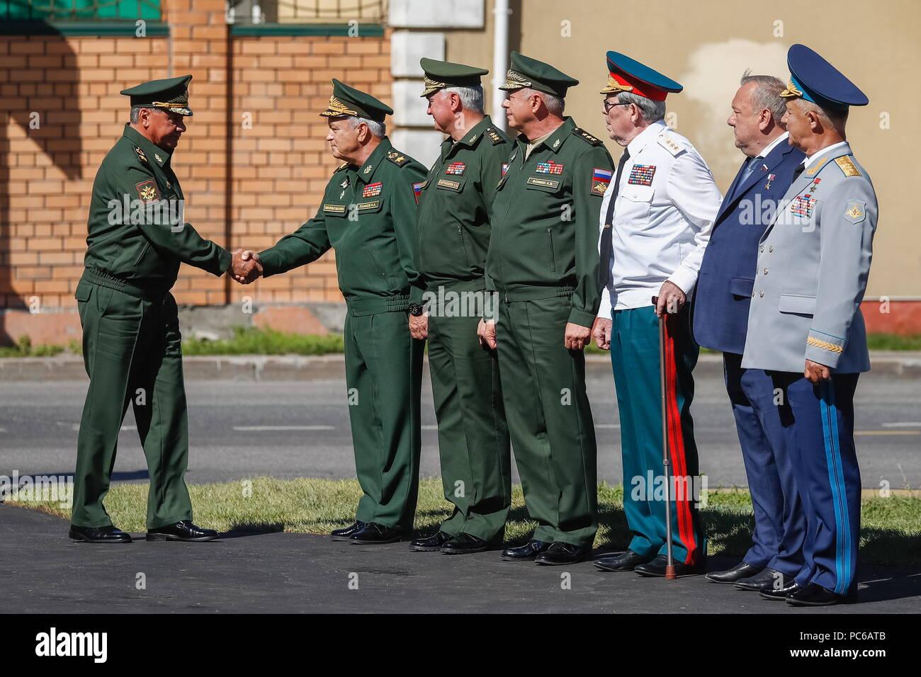 General Shamanov: biography, family, children, photo 32