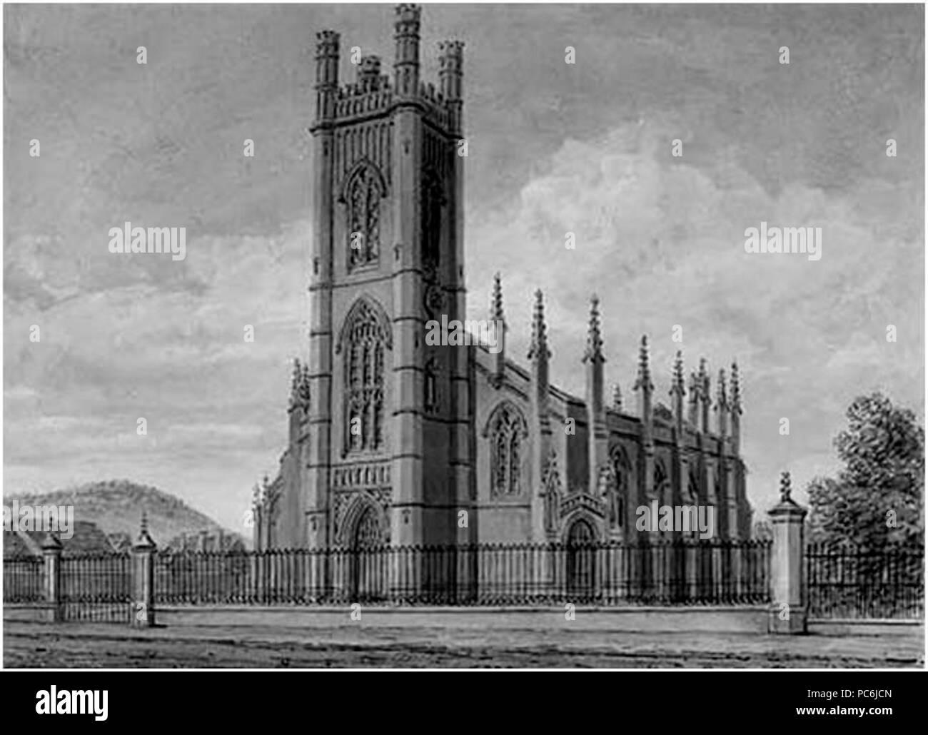 283 Holy Trinity Church Burton on Trent - Stock Image
