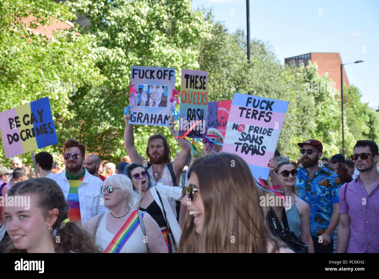 Norwich Pride, 28 July 2018 UK - Stock Image