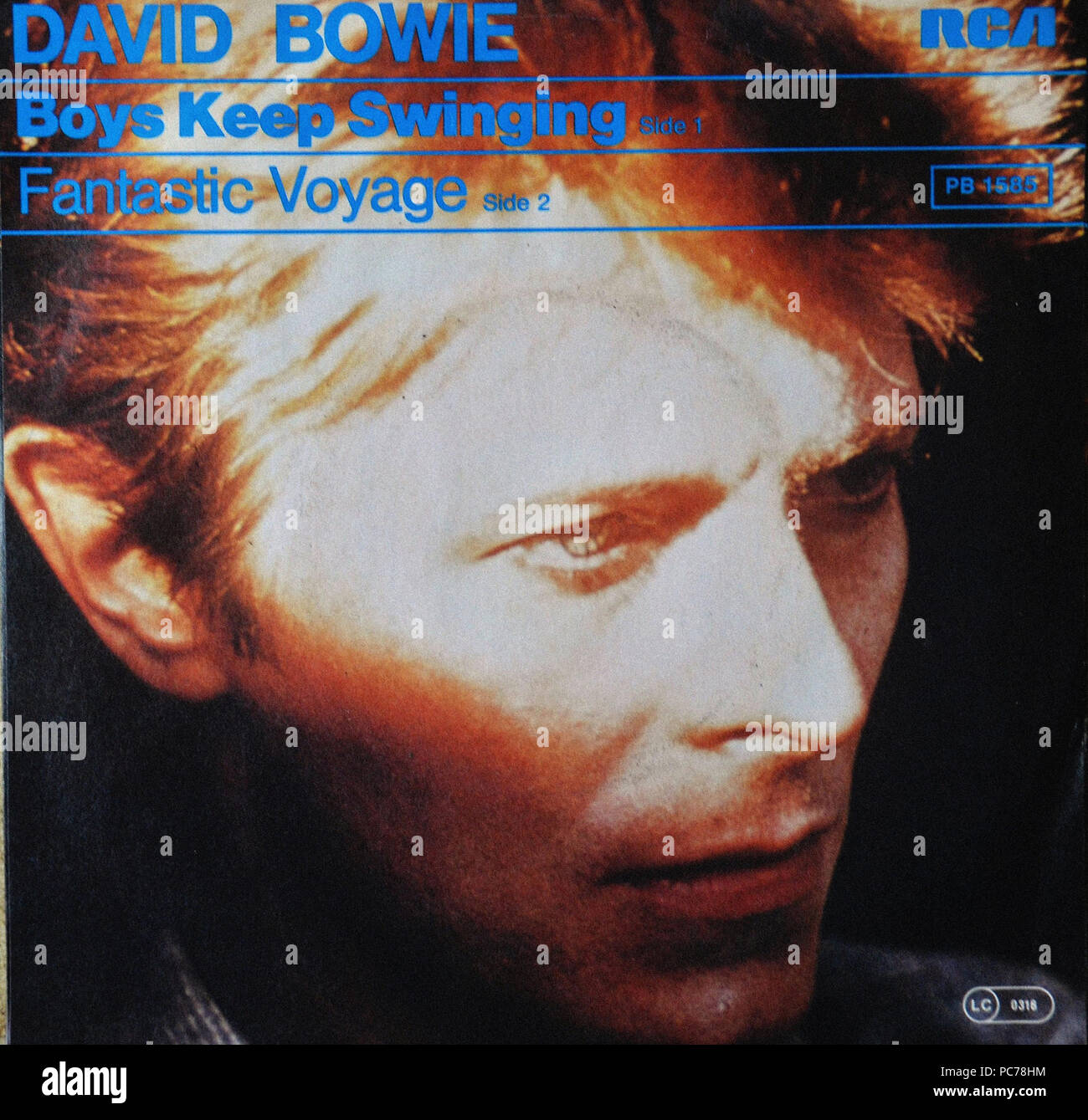 David Bowie - Vintage vinyl album cover Stock Photo: 214060720 - Alamy