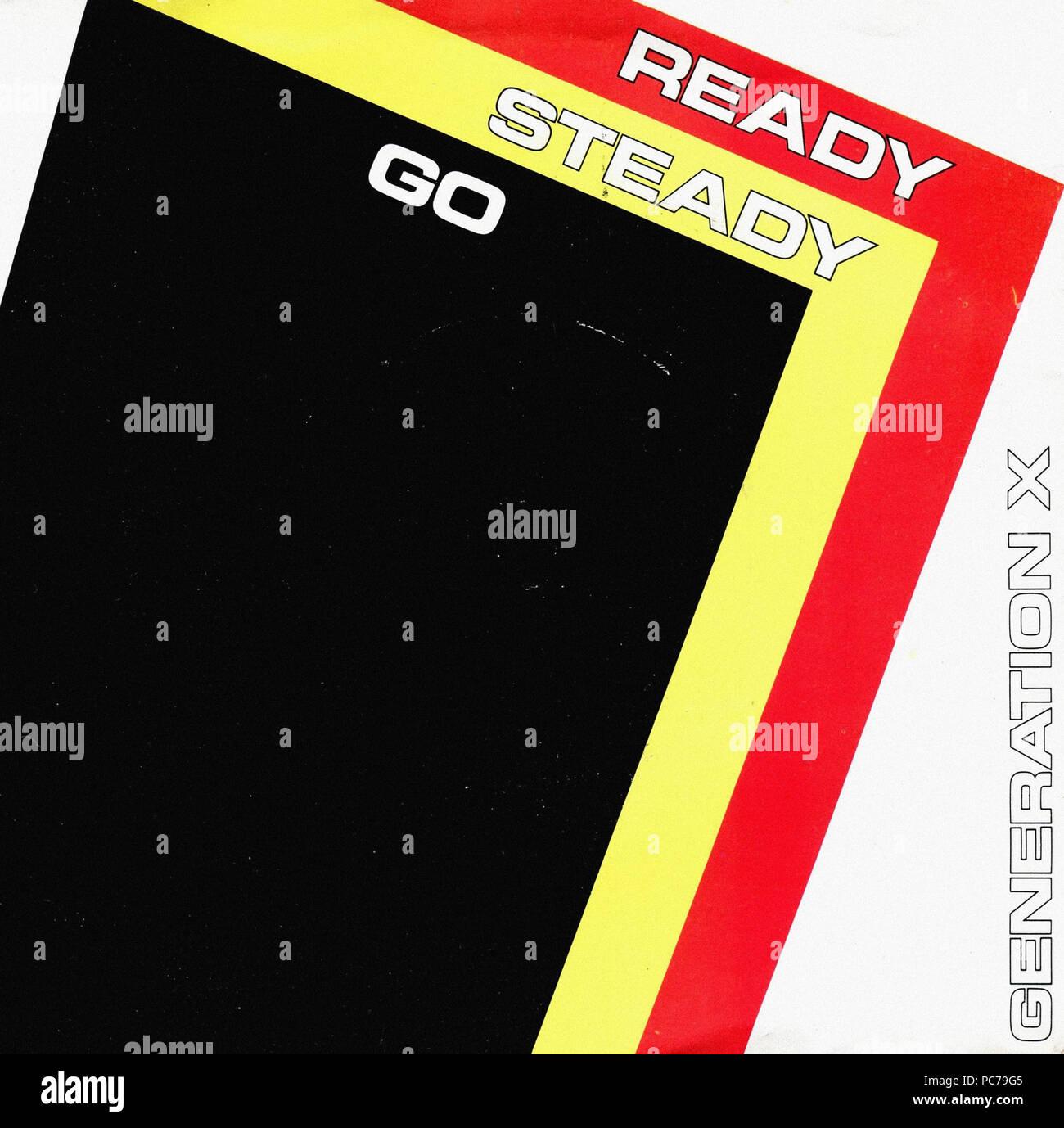 Generation X   -  Ready Steady Go (1978)  -  Vintage vinyl album cover - Stock Image