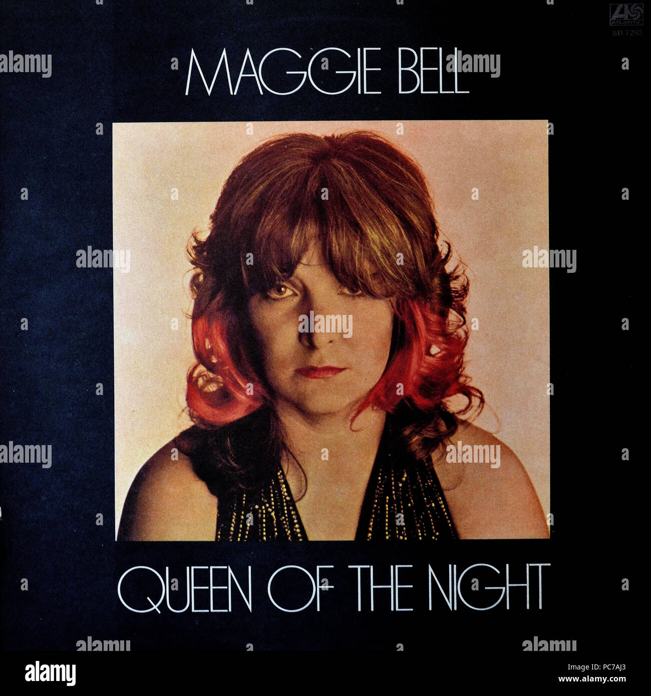 Maggie Bell - Queen Of The Night - Vintage vinyl album cover Stock