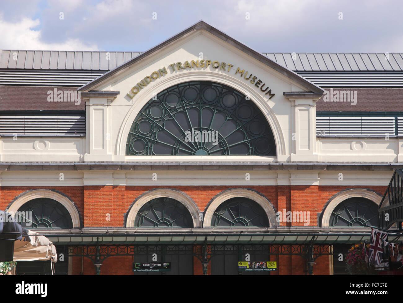 London Transport Museum Covent Garden London Stock Photo