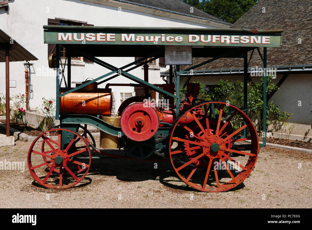 Musee Maurice Dufresne Museum in the Marnay mill, near Tours and ...
