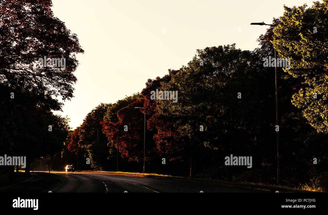 Colne Way, Watford, Hertfordshire, England, UK. - Stock Image