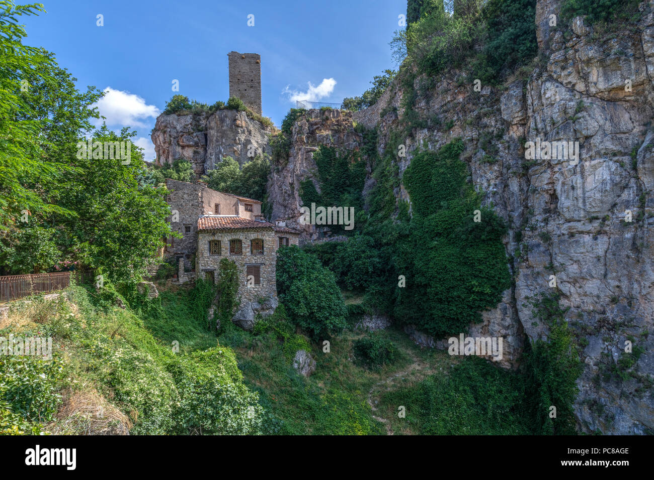 Chateaudouble, Var, Provence, France - Stock Image