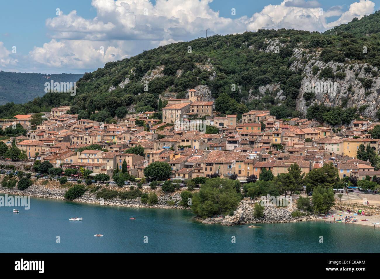Bauduen, Var, Provence, France - Stock Image