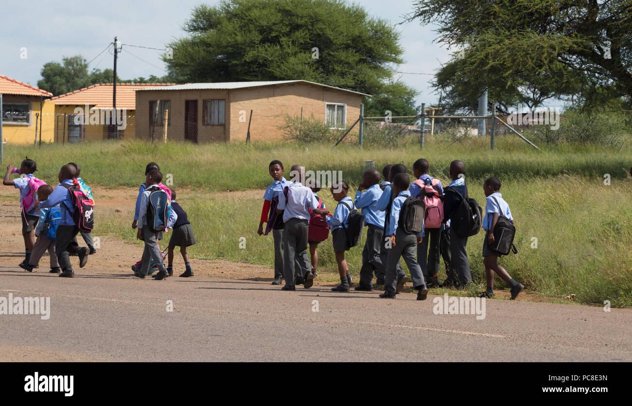 African School Children Stock Photos & African School Children Stock