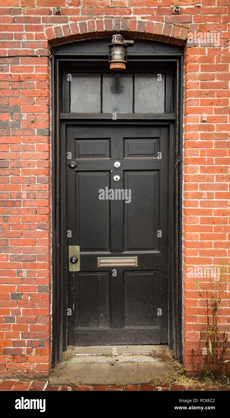 Front Door Of A House In Portsmouth Nh Stock Photo 214087218 Alamy
