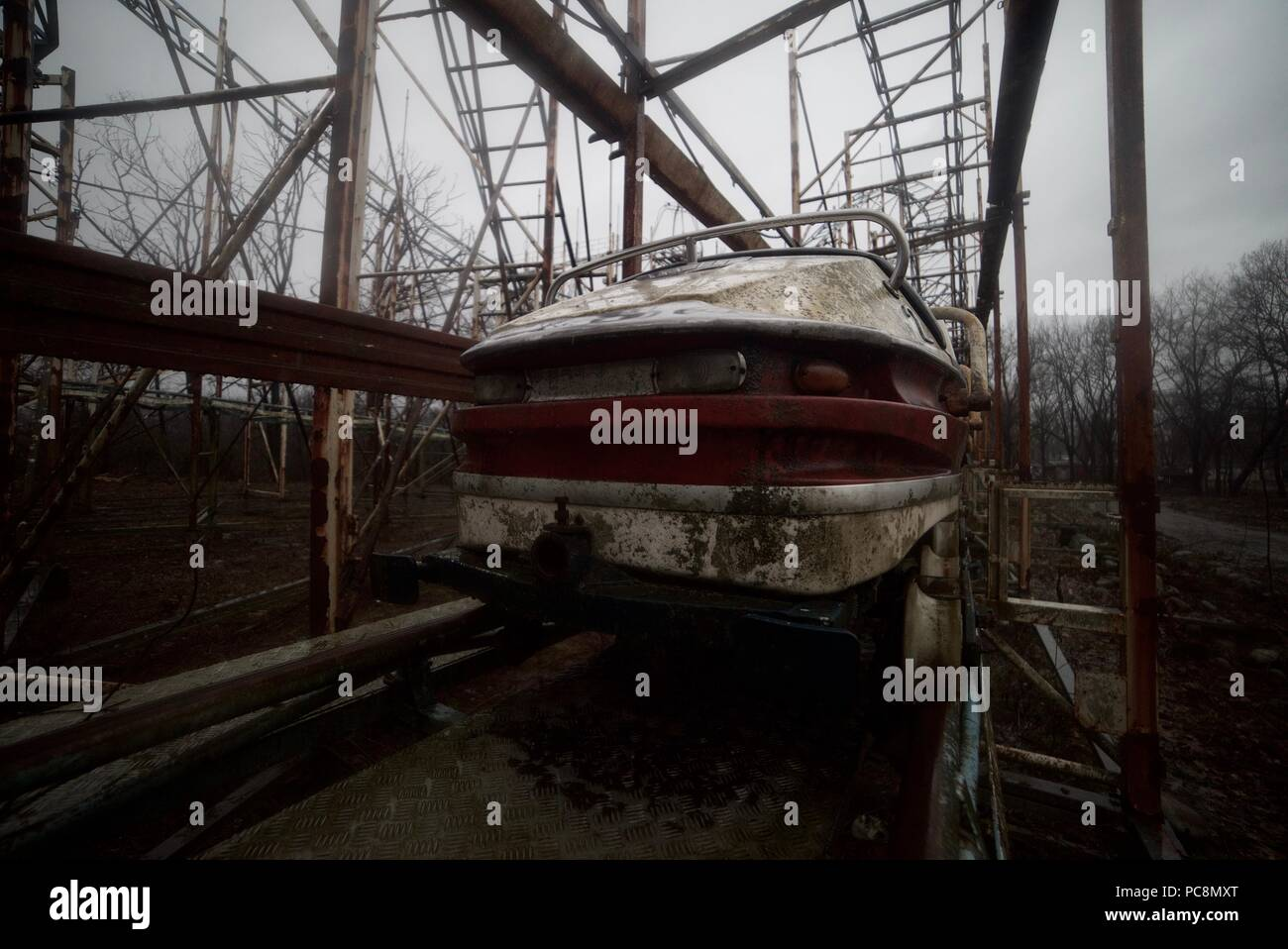 Abandoned Theme Park High Resolution Stock Photography And Images Alamy