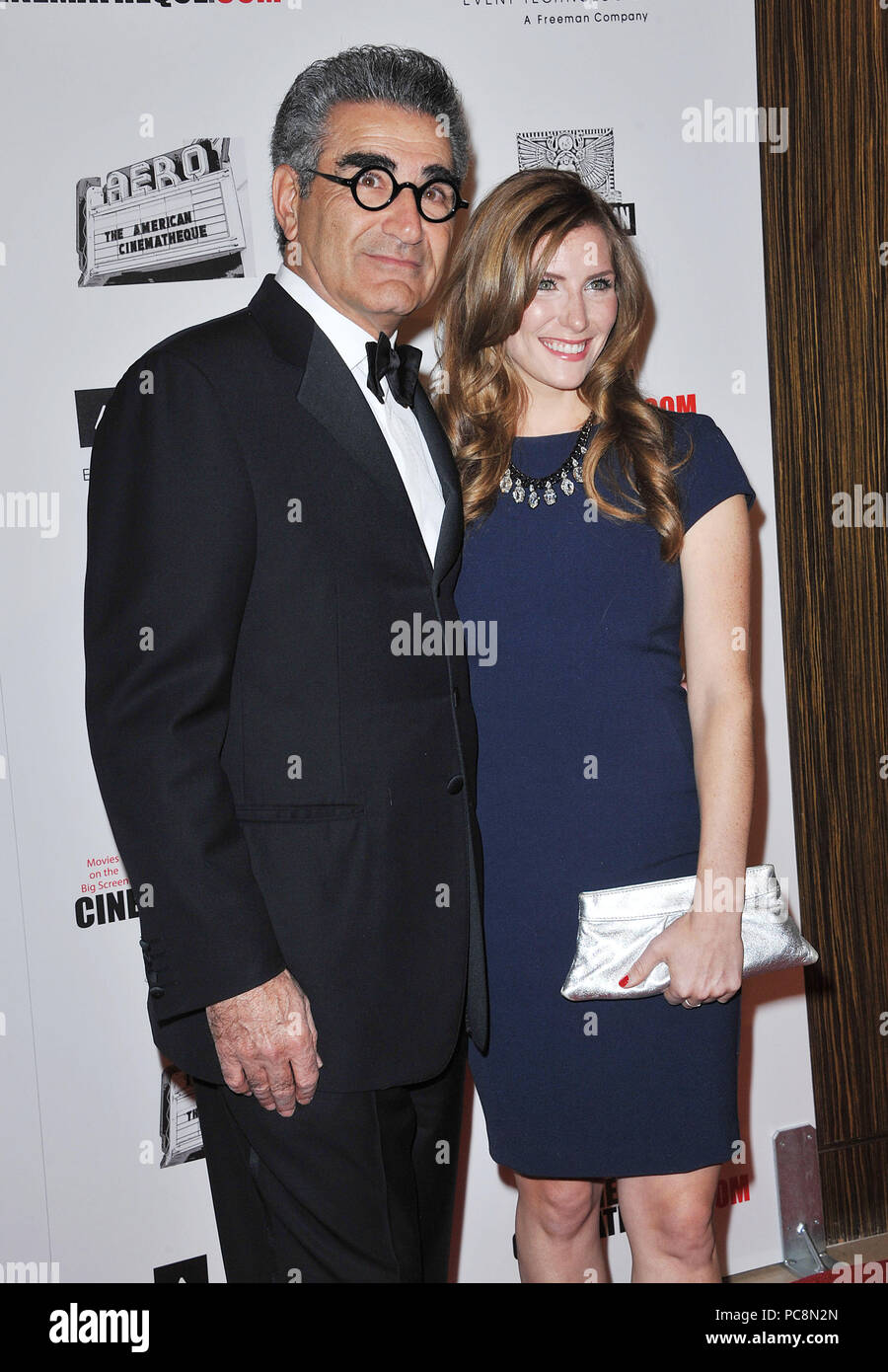 Eugene Levy and Daughter Sarah at American Cimenatheque Honoring Ben